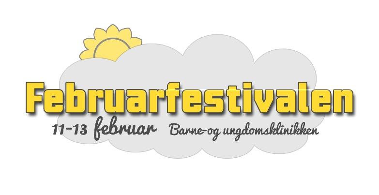 Februarfestival 2015 ved Barne- og ungdomsklinikken.