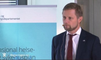 Bent Høie legger fram Nasjonal helse- og sykehusplan 20.11.15